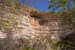 Het dichtbijgelegen Kamp Verde, Arizona, de V.S. van het Montezumaskasteel Royalty-vrije Stock Afbeelding