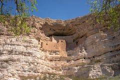 Het dichtbijgelegen Kamp Verde, Arizona, de V.S. van het Montezumaskasteel Royalty-vrije Stock Fotografie