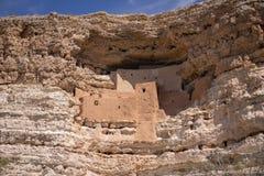 Het dichtbijgelegen Kamp Verde, Arizona, de V.S. van het Montezumaskasteel Royalty-vrije Stock Foto's