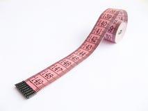 Het dieet massband verliest gewicht royalty-vrije stock foto's