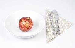 Het dieet van de appel. Stock Afbeeldingen