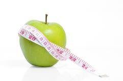 Het dieet van de appel Royalty-vrije Stock Fotografie