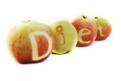 Het Dieet van de appel royalty-vrije stock afbeelding