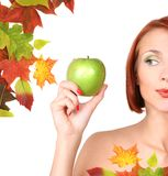 Het dieet van de herfst Stock Afbeelding
