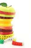 Het dieet van het fruit royalty-vrije stock afbeeldingen