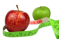 Het Dieet van het fruit Royalty-vrije Stock Foto's