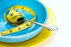 Het Dieet van het Verlies van het gewicht Stock Foto