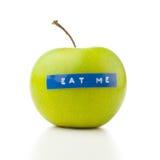 Het dieetconcept van de appel Stock Afbeeldingen
