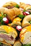 Het dienblad van de sandwich Royalty-vrije Stock Foto