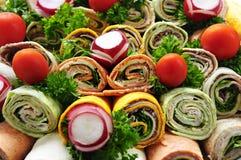 Het dienblad van de sandwich Royalty-vrije Stock Foto's