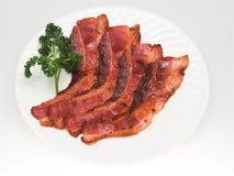 Het Dienen van Bacon Stock Fotografie