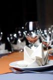 Het dienen van het restaurant Royalty-vrije Stock Fotografie
