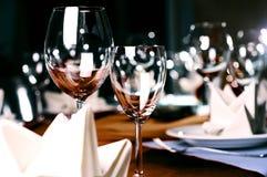 Het dienen van het restaurant Royalty-vrije Stock Foto's