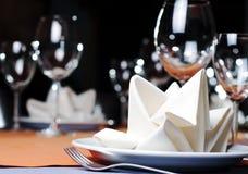 Het dienen van het restaurant Stock Foto