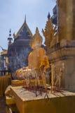 Wat Phra die Lampang Luang - Thailand Royalty-vrije Stock Afbeelding