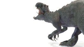 Het dier, indominus rex van backgorund, 3d geeft terug royalty-vrije stock foto's