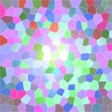 Het digitale beeld van het pastelkleurmozaïek Royalty-vrije Stock Afbeeldingen