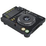 Het digitale materiaal van de de mixermuziek van DJ Stock Afbeeldingen