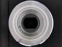 Het digitale Optische Gezoem van de Lens van de Camera 5X Stock Foto's