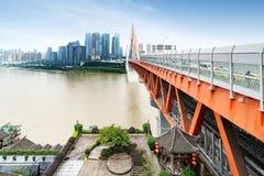 Het dimensionale verkeer van China Chongqing Stock Afbeeldingen