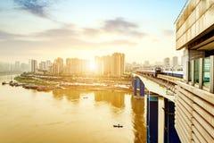 Het dimensionale verkeer van China Chongqing Royalty-vrije Stock Fotografie