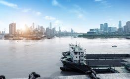 Het dimensionale verkeer van China Chongqing Stock Afbeelding