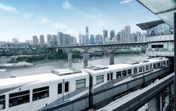 Het dimensionale verkeer van China Chongqing Royalty-vrije Stock Foto