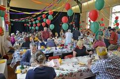 Het Diner 2012 van Chrismas Stock Afbeelding