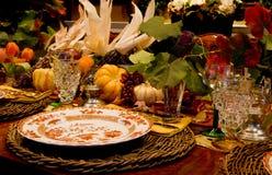 Het Diner van de dankzegging Royalty-vrije Stock Afbeelding