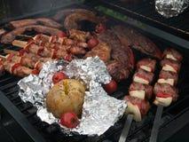 Het diner van de jasjeaardappel Stock Foto