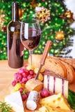 Het diner van de Kerstmisvooravond Royalty-vrije Stock Fotografie