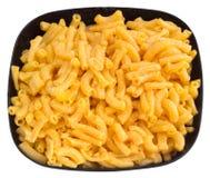 Het diner van de macaroni en van de kaas royalty-vrije stock afbeelding