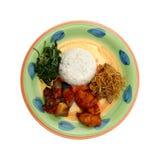 Het diner van de rijst Stock Fotografie