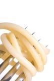 Het diner van de spaghetti Stock Foto