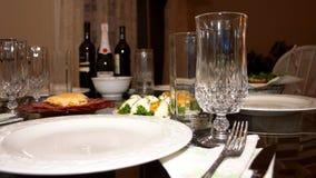 Het diner van de vakantie Stock Foto's