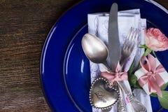 Het diner van de valentijnskaartendag Royalty-vrije Stock Foto's