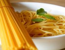 Het diner van deegwaren Stock Foto's