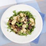 Het Diner van Gnocchi stock foto