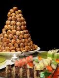 Het diner van het buffet royalty-vrije stock foto