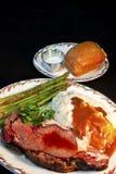 Het Diner van het entrecôte Royalty-vrije Stock Afbeelding
