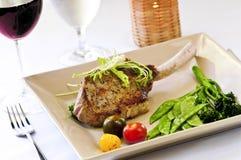 Het diner van het kalfsvlees Stock Fotografie