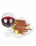 Het diner van het rundvlees. royalty-vrije stock foto