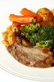 Het diner van het rundvlees stock afbeeldingen