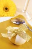 Het diner van Pasen stock foto