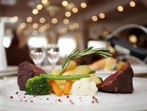 Het diner van Restourant Royalty-vrije Stock Afbeelding