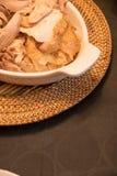 Het Diner van Turkije van de dankzegging Royalty-vrije Stock Foto