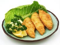 Het Diner van vissen Stock Foto's