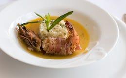 Het diner van zeevruchten Royalty-vrije Stock Afbeelding