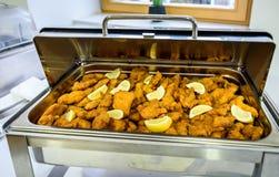 Het Dinercatering van het keuken Culinaire Buffet het Dineren Voedselviering royalty-vrije stock foto