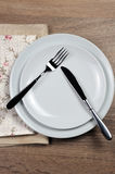 Het dineren etiquette stock foto's